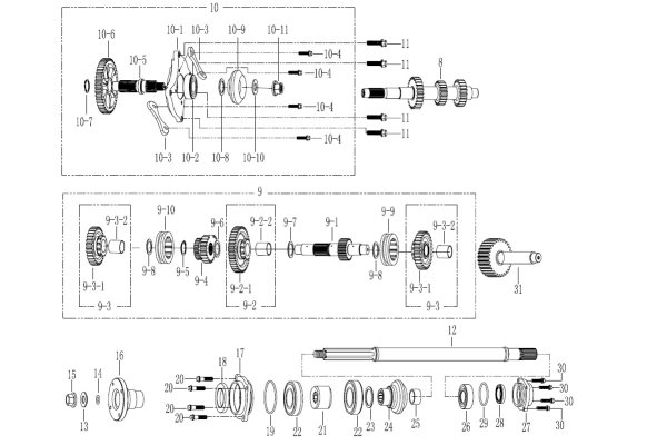 GEARSHIFT GROUP III Gearbox
