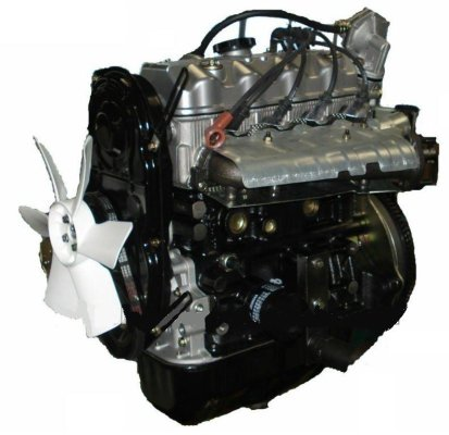 1100cc 4-Zyl. ENGINE Typ 462 / 465 / F10A and GEARBOX