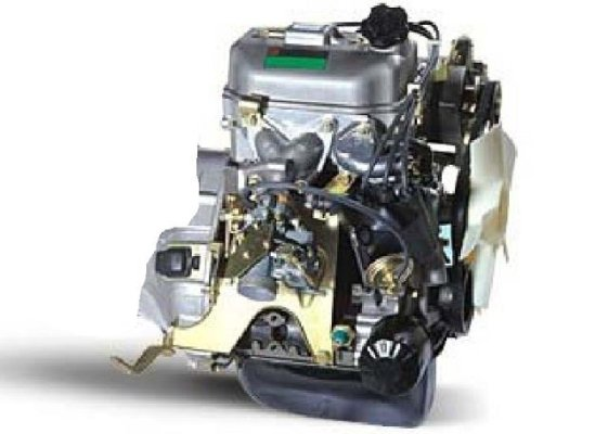 650cc 2-Zyl- ENGINE Typ 276 and GEARBOX