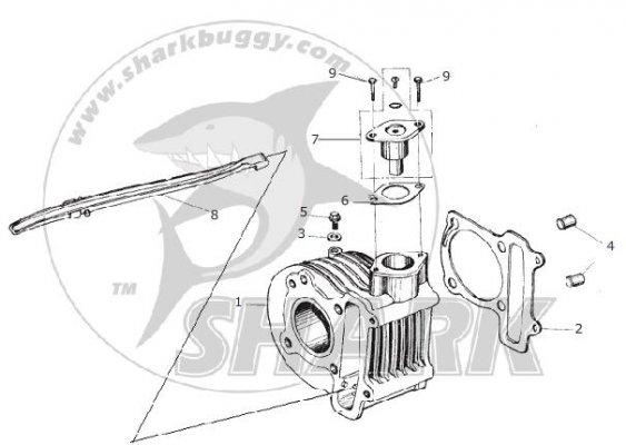 150cc ENGINE GY6 Typ 157QMJ