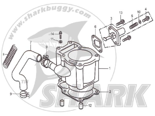 Fig 03 CYLINDER BODY ASSY  172mm and 172mm-A