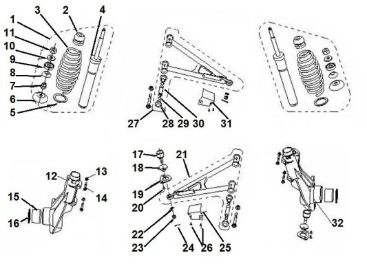 Fig. 06 FRONT SUSPENSION