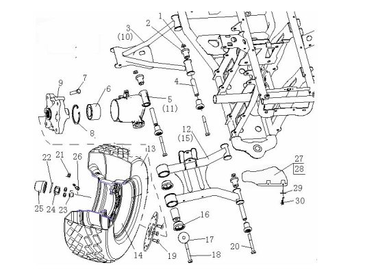 Fig.7 WHEEL REAR