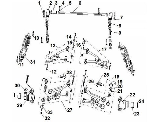 Fig. 08 REAR SUSPENSION