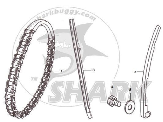 Fig 08 TIMING CHAIN  172mm and 172mm-A