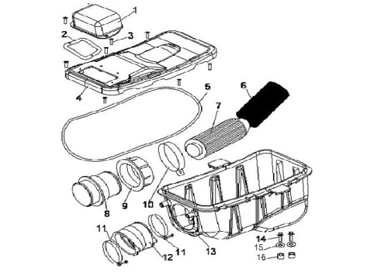 Fig. 15 INTAKE AND EXHAUST