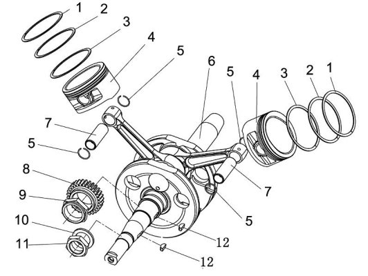 Fig.23 CRANKSHAFT COMP