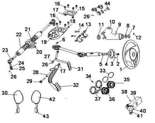 Fig.3 STEERING SYSTEM