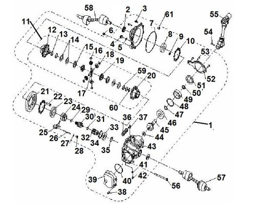 Fig. 10 FRONT GEAR-BOX