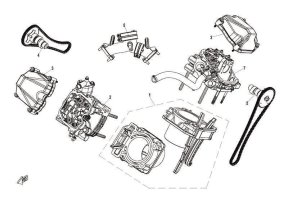 E07 CYLINDER HEAD AND CYLINDER ASSY
