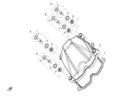 E08 CYLINDER HEAD COVER ASSY