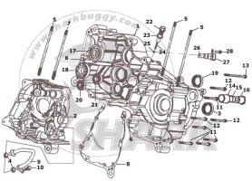 Fig.04 CRANK CASE ASSY. 172mm-B and 172mm-C
