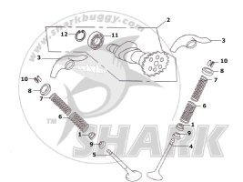 Fig.07 VALVE TRANNY ASSY. 172-B and 172mm-C