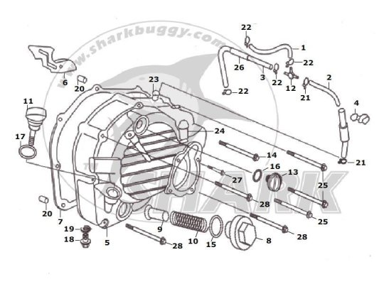 Fig 05 RIGHT COVER ASSY  172mm and 172mm-A