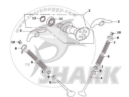 Fig 07 ADMISSION MACHANISM  172mm and 172mm-A