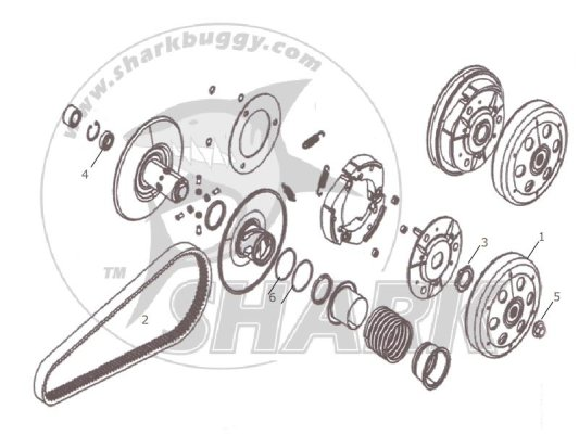 Fig 13 CLUTCH ASSY  172mm and 172mm-A