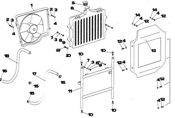 XT-07 COOLING SYSTEM