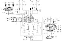 GASKET,CYLINDER HEAD COVER  XY-192 MR