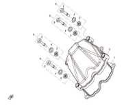 2. CYLINDER HEAD COVER - CF800