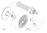 2. CAM, DRIVEN PULLEY - CF800
