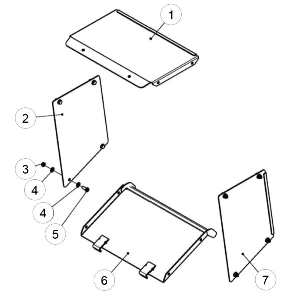4. PLAIN WASHER 10 - GEO ECO 16