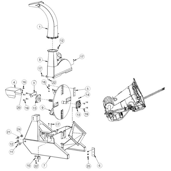 19. Bolt M16x1.5x45 - GEO ECO 21