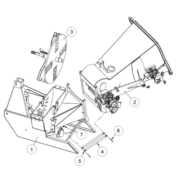 1. Housing- Bottom Rotor - GEO ECO 21