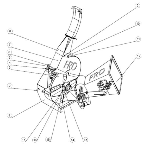 1. Engine Body - GEO ECO 22