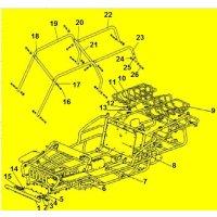 2. Rohrscheibe für Rahmenverschraubung GSMoon 400